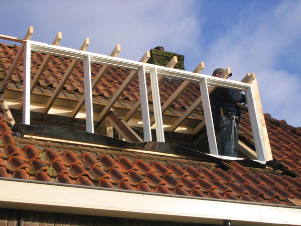 Opbouw dakkapel